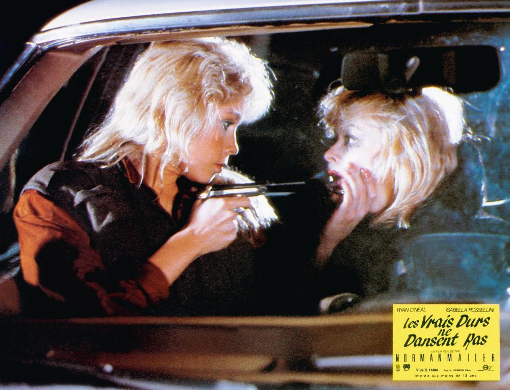 TOUGH GUYS DON'T DANCE, (aka LES VRAIS DURS NE DANSENT RAS), from left: Debra Sandlund, Frances Fisher, 1987, © Cannon Films
