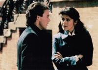 TOUCH AND GO, from left, Michael Keaton, Maria Conchita Alonso, 1986, ©TriStar Pictures