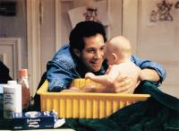 THREE MEN AND A BABY, from left: Steve Guttenberg, Lisa/Michelle Blair, 1987, © Buena Vista