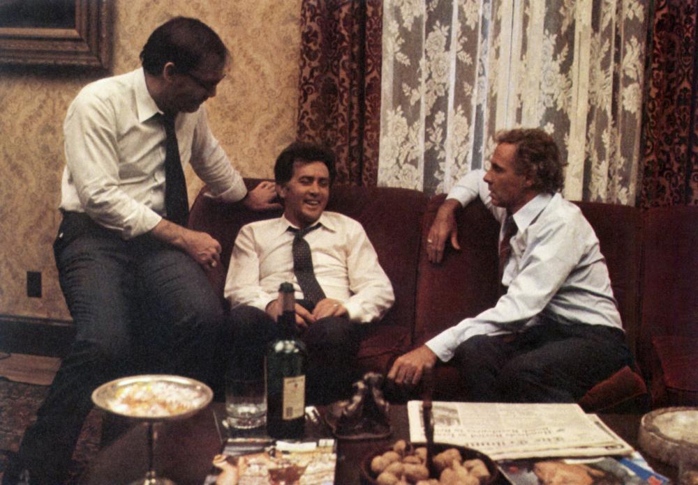THAT CHAMPIONSHIP SEASON, Stacy Keach, Martin Sheen, Bruce Dern, 1982, (c) Cannon Films