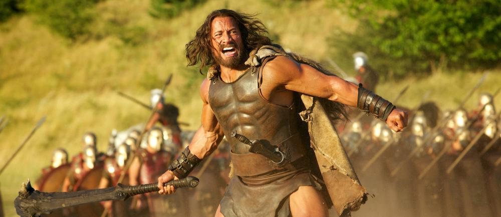 HERCULES, Dwayne Johnson as Hercules, 2014. ph: Kerry Brown/©Paramount Pictures