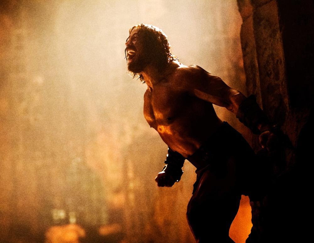 HERCULES, Dwayne Johnson as Hercules, 2014. ph: David James/©Paramount Pictures