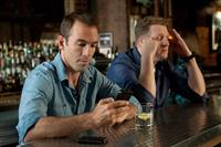 MY MAN IS A LOSER, from left: Bryan Callen, Michael Rapaport, 2014. ph: Ali Goldstein/©Lionsgate