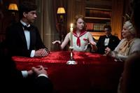 MAGIC IN THE MOONLIGHT, from left: Hamish Linklater, Emma Stone, Colin Firth, Jacki Weaver, 2014. ph: Jack English/©Sony Classics