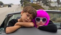 WISH I WAS HERE, from left: Pierce Gagnon, Joey King, 2014. ph: Merie Weismiller Wallace/©Focus Features