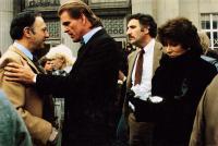 TEACHERS, from left: Allen Garfield, Nick Nolte, Judd Hirsch, Lee Grant, 1984, © MGM