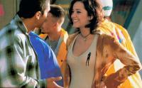 TAXI 2, from left: Samy Naceri, Marion Cotillard, 2000, © Lions Gate