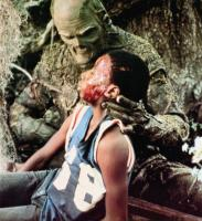 SWAMP THING, Reggie Batts (front), Dick durock, 1982,  © Embassy Pictures