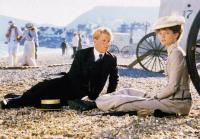 A SUMMER STORY, from left, James Wilby, Imogen Stubbs, 1988, TM and copyright ©Warner Brothers. All rights reserved/.