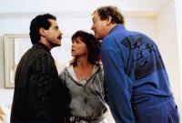 SURRENDER, from left: Steve Guttenberg, Sally Field, Michael Caine, 1987, © Warner Brothers