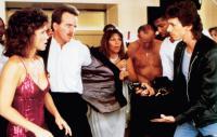 SURRENDER, Sally Field (left), Steve Guttenberg (second from left), 1987, © Warner Brothers