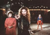 SUPERGIRL, Brenda Vaccaro, Faye Dunaway, Helen Slater, 1984, © Warner Bros.