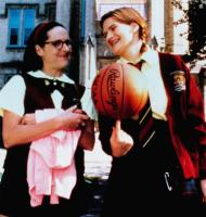 SUPERSTAR, from left: Molly Shannon, Emmy Laybourne, 1999, © Paramount