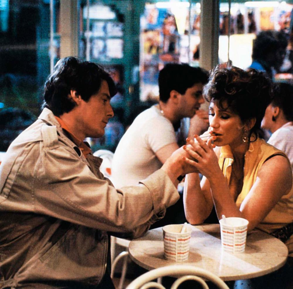STREET SMART, from left: Christopher Reeve, Kathy Baker, 1987, © Cannon Films