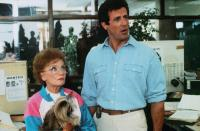 STOP! OR MY MOM WILL SHOOT, from left: Estelle Getty, Sylvester Stallone, 1992, © Universal