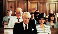 STORYVILLE, Chuck McCann (eyeglasses), front from left: Jason Robards, Joanne Whalley, 1992, TM & Copyright © 20th Century Fox Film Corp.