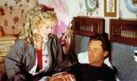 STEEL MAGNOLIAS, from left: Dolly Parton, Sam Shepard, 1989, © TriStar