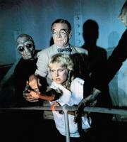 STRANGE INVADERS, Diana Scarwid (pointing), Kenneth Tobey, 1983, © Orion