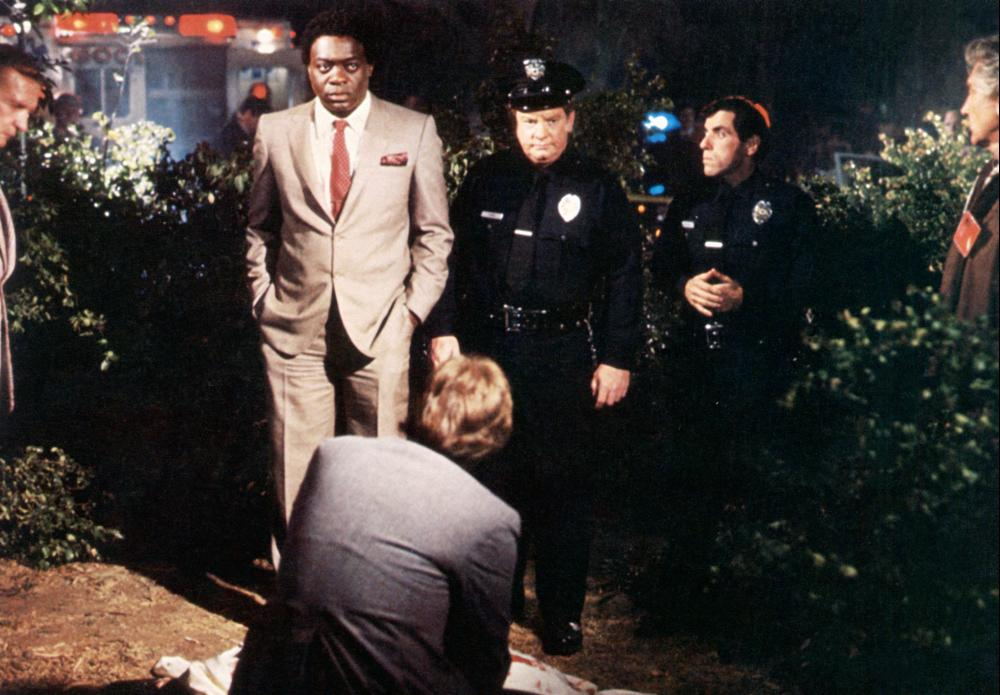 THE STAR CHAMBER, Yaphet Kotto (center, left), David Proval (second from right), Hal Holbrook (right), 1983. TM and Copyright © 20th Century Fox Film Corp. All rights reserved..