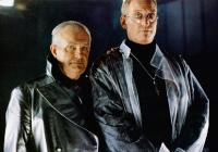 SPACE TRUCKERS, from left: Shane Rimmer, Charles Dance, 1996, © TriPictures