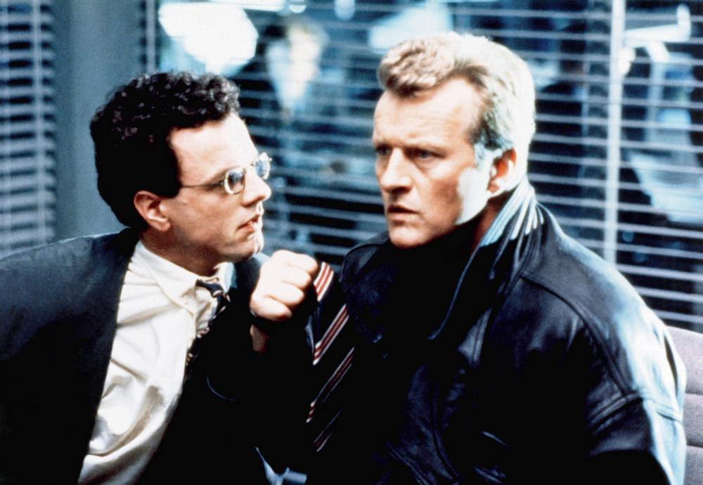 SPLIT SECOND, from left, Alastair Duncan, Rutger Hauer, 1992