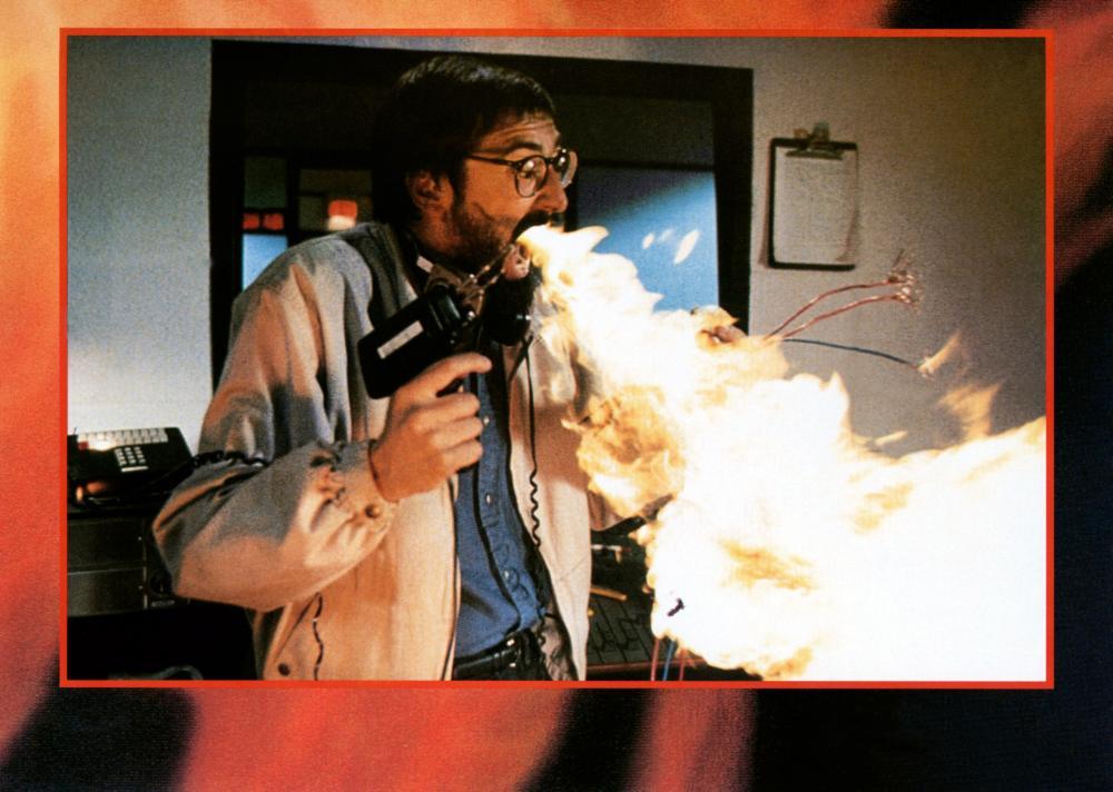 SPONTANEOUS COMBUSTION, John Landis, 1990. ©Taurus Entertainment Company