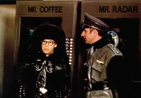 SPACEBALLS, from left: Rick Moranis, George Wyner, 1987, © MGM