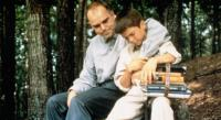 SLING BLADE, from left: Billy Bob Thornton, Lucas Black, 1996, © Miramax