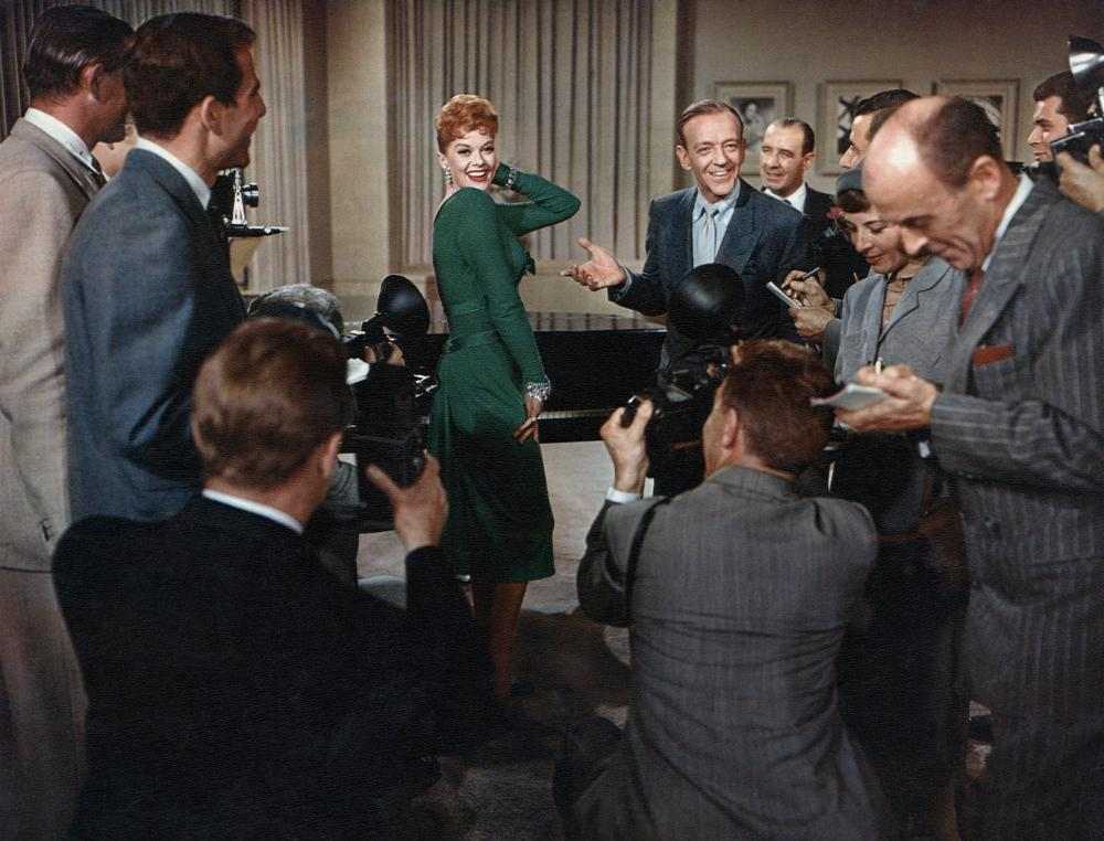 SILK STOCKINGS, Janis Paige, Fred Astaire, 1957