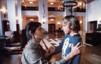 THE SHINING, Shelly Duvall, Danny Lloyd, 1980. © Warner Bros.