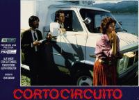SHORT CIRCUIT, Fisher Stevens, Steve Guttenberg, Ally Sheedy, 1986, (c) TriStar