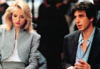 SEA OF LOVE, from left: Ellen Barkin, Al Pacino, 1989. © Universal