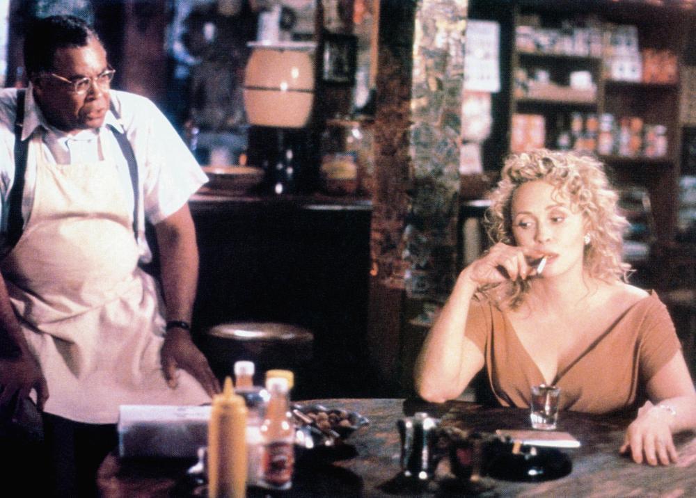 SCORCHERS, from left: James Earl Jones, Faye Dunaway, 1991, © Goldcrest
