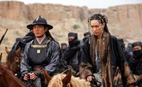 14 BLADES, (aka GAM YEE WAI, aka JIN YI WEI), from left: Yuwu Qi, Kate Tsui, 2010. ©The Weinstein Company