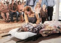 RESURRECTION, Madeleine Sherwood (lying down), Ellen Burstyn, 1980, (c) Universal