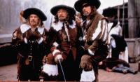 REVENGE OF THE MUSKETEERS, (aka LA FILLE D'ARTAGNAN), from left: Raoul Billerey, Philippe Noiret, Jean-Luc Bideau, 1994, © BAC Films