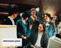 REAL GENIUS, (aka PROFESSION: GENIE), standing from left: Mark Kamiyama, Michelle Meyrink, Val Kilmer, Gabriel Jarret, Jon Gries (seated), 1985, © TriStar