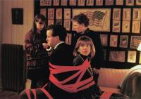 THE REF, foreground: Adam LeFevre, Christine Baranski, background: Ellie Raab, Robert J. Steinmiller Jr., 1994, (c) Touchstone
