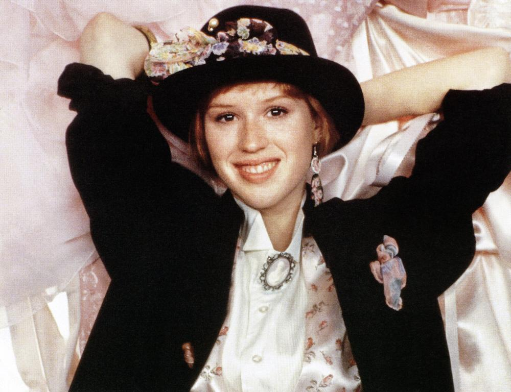 PRETTY IN PINK, Molly Ringwald, 1986. ©Paramount Pictures