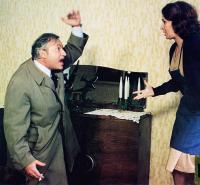 PILE OU FACE, from left: Michel Serrault, Antoinette Moya, 1980, © Castle Hill