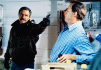 PHYSICAL EVIDENCE, from left: Burt Reynolds, Ray Baker, 1989, © Columbia