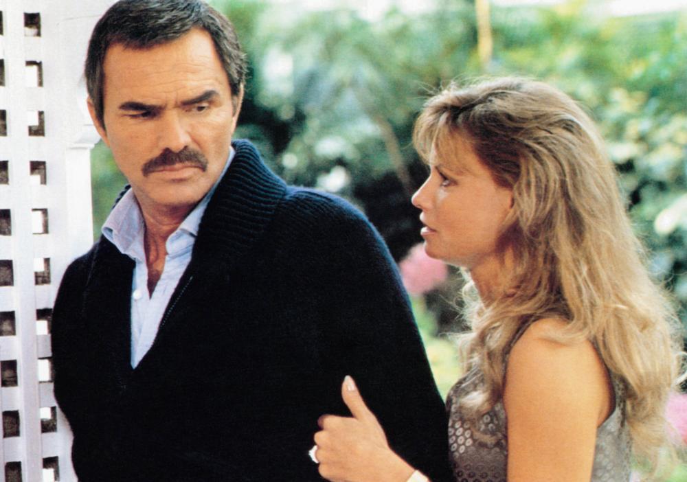 PHYSICAL EVIDENCE, from left: Burt Reynolds, Kay Lenz, 1989, © Columbia