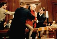 THE PEOPLE VS. LARRY FLYNT, Courtney Love (being restrained), 1996, © Columbia