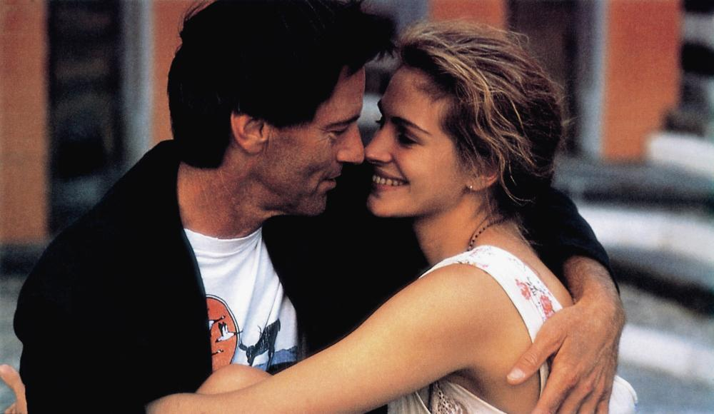 THE PELICAN BRIEF, from left: Sam Shepard, Julia Roberts, 1993, © Warner Brothers