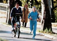 PATERNITY, front from left: Burt Reynolds, Beverly D'Angelo, 1981, © Paramount