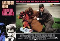 PATRIOT GAMES, (aka JUEGO DE PATRIOTAS), Harrison Ford (left), center from left: Thora Birch, Anne Archer, Harrison Ford, 1992, © Paramount
