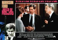 PATRIOT GAMES, (aka JUEGO DE PATRIOTAS), Harrison Ford (left), center from left: Anne Archer, Harrison Ford, James Fox, 1992, © Paramount