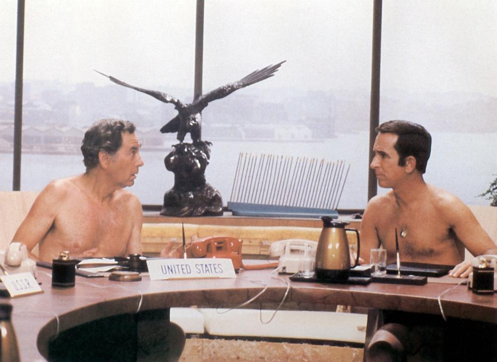The Nude Bomb Movie Trailer In German Don Adams Maxwell