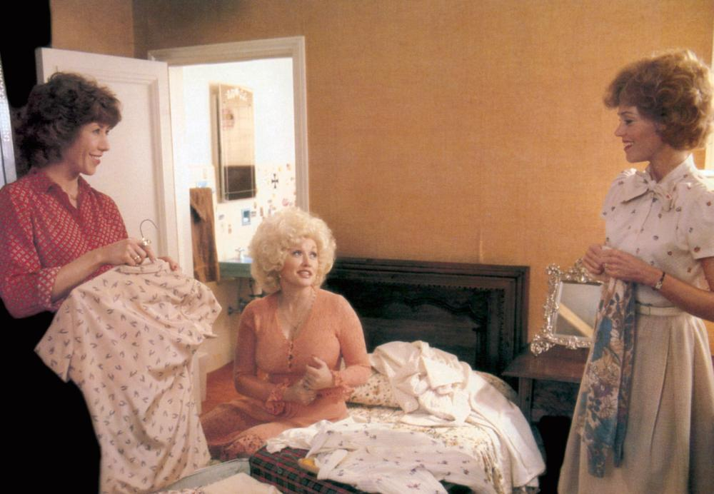 NINE TO FIVE, (aka 9 TO 5), Lily Tomlin, Dolly Parton, Jane Fonda, 1980, TM & Copyright (c) 20th Century Fox Film Corp.