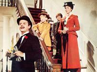 MARY POPPINS, David Tomlinson, Karen Dotrice, Matthew Garber, Julie Andrews, 1964.